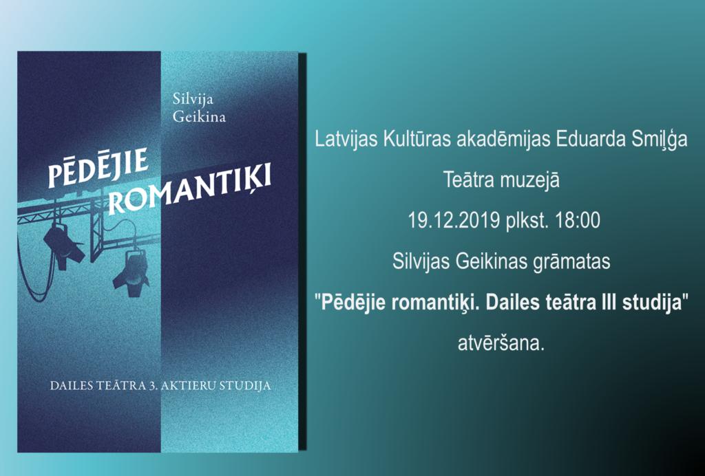Grāmatas_Pēdējie Romantiķi_ atklāšana